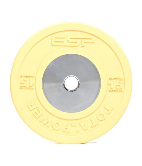 ESP Fitness Competition Bumper Plate 15kg2