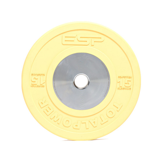 ESP Fitness Competition Bumper Plate 15kg2