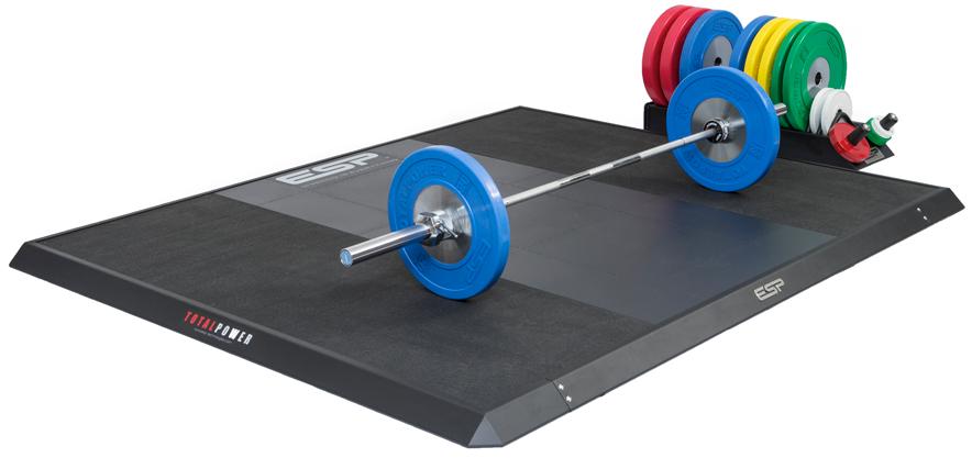 Platforms ESP Fitness - Weight lifting floor pads