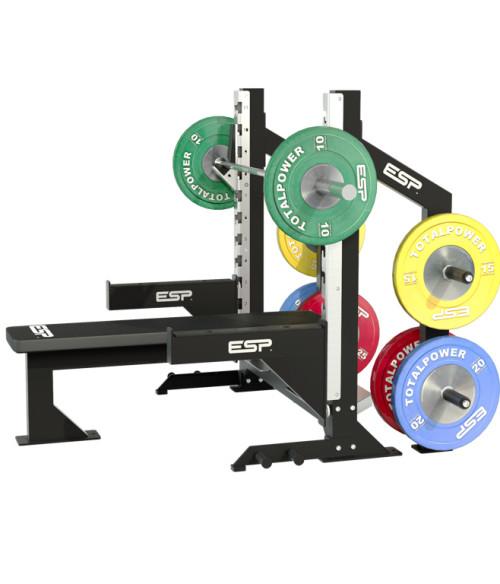 Power Rack Bench Press Safety: ESP Bench Press Safety Bars