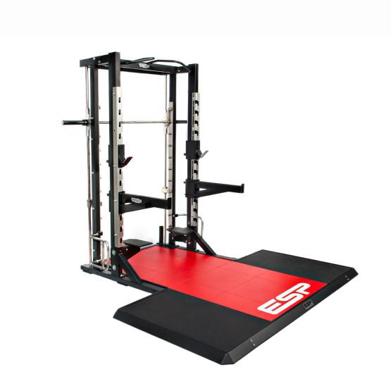 ESP Fitness Technogym Half Rack Platform3