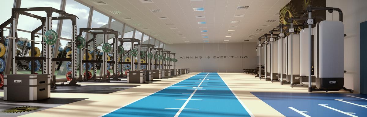 Facility design esp fitness for Athletic training facility design