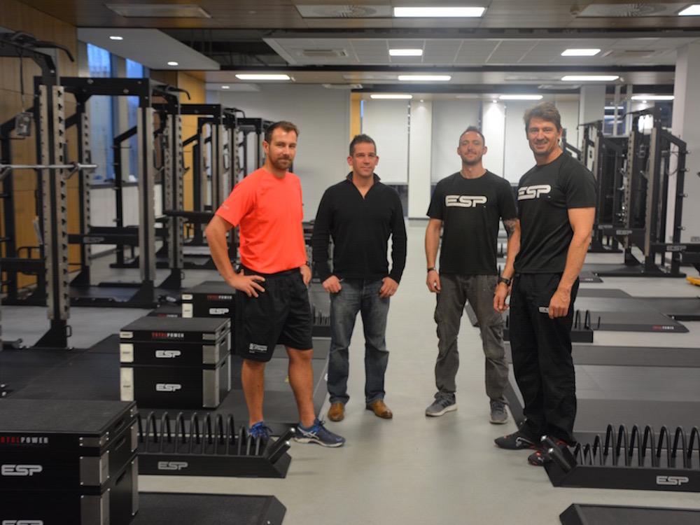 Esp at university of glasgow powerplay esp fitness