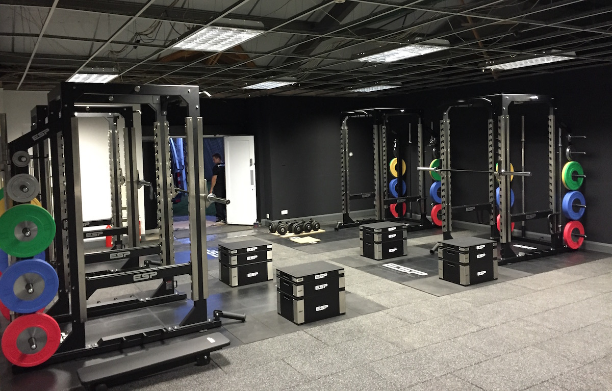 Esp fitness opens a state of the art rugby performance gym for Gimnasio fitness club