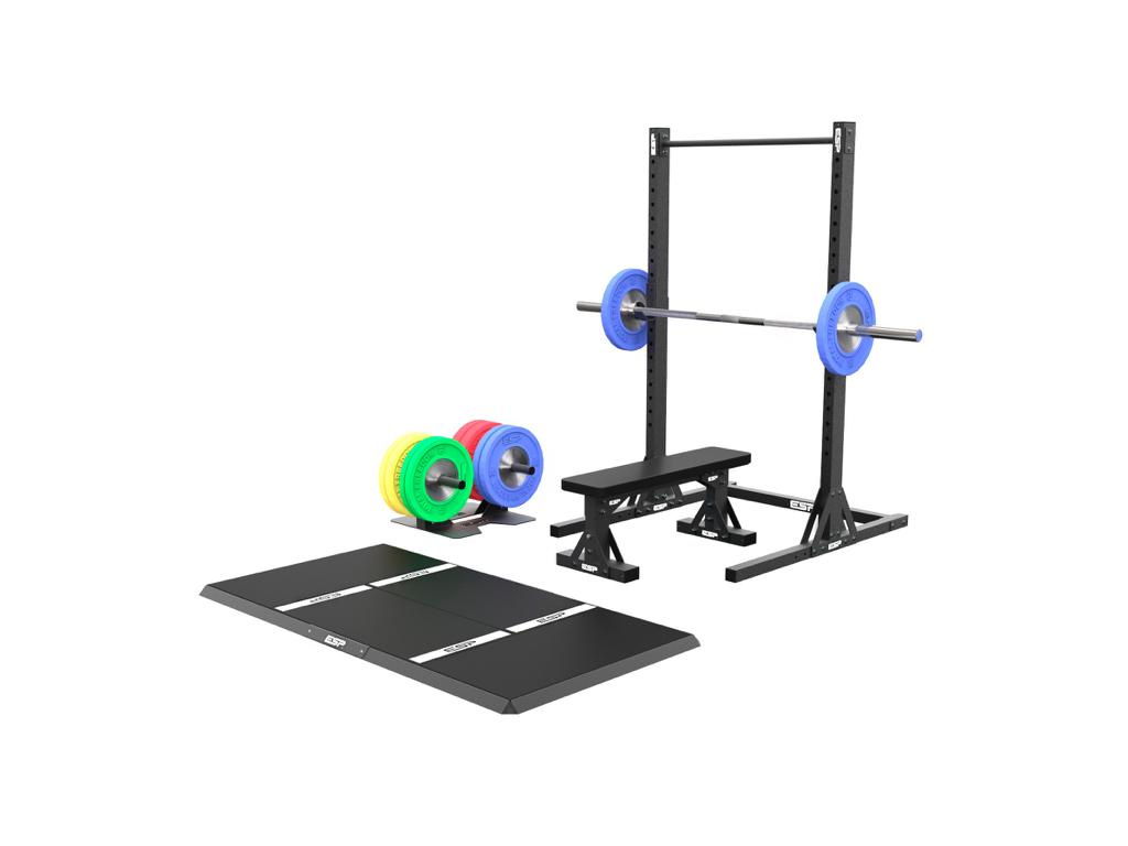 Esp totalgarage home gym set fitness