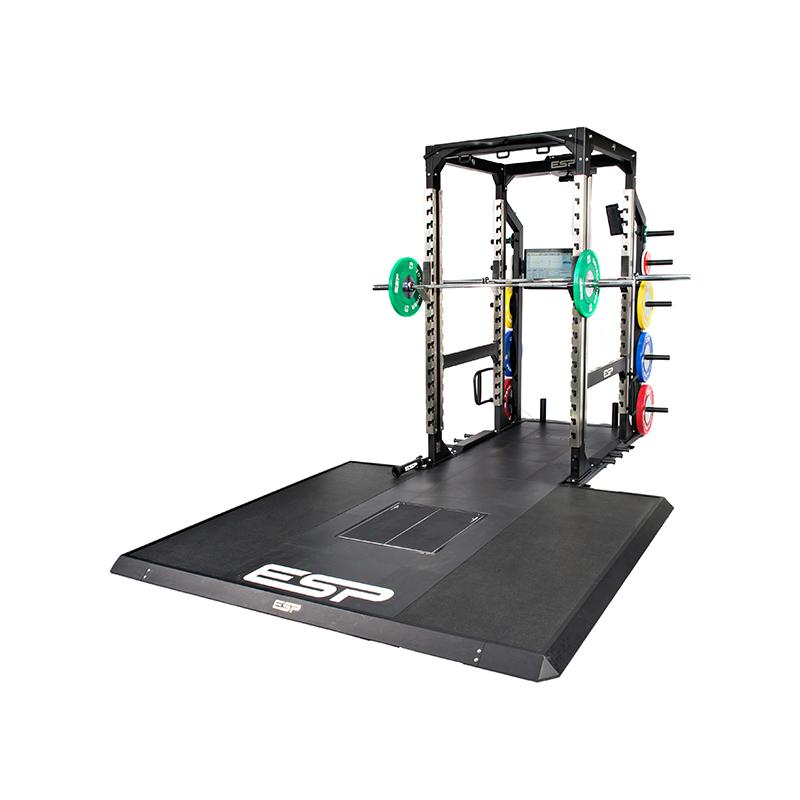Squat rack with lifting platform cosmecol