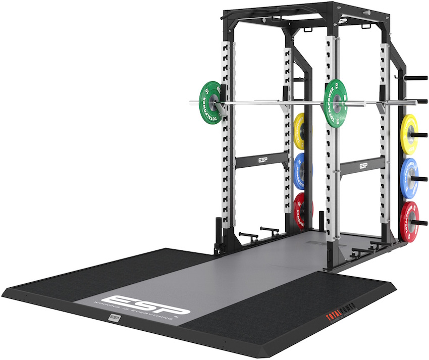 Esp Lifting Platform Combo Is A Seamless Integration Of The Global Leading Totalpower Rack And It Has Been Designed To Allow For