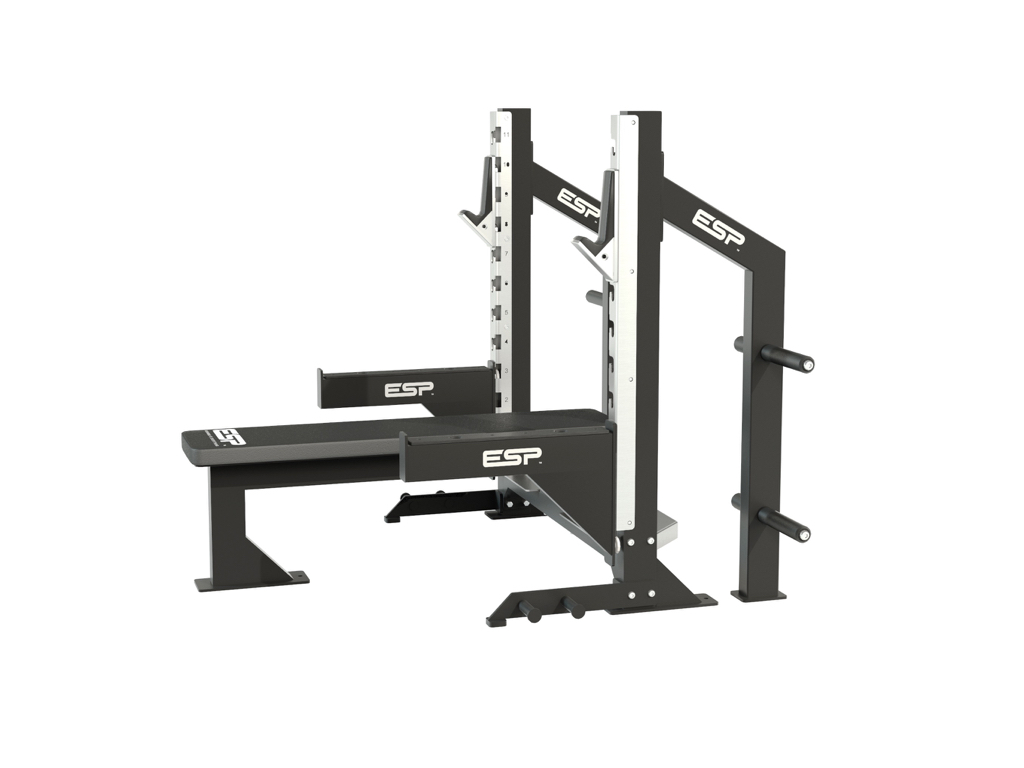 Esp Bench Press Safety Bars Esp Fitness