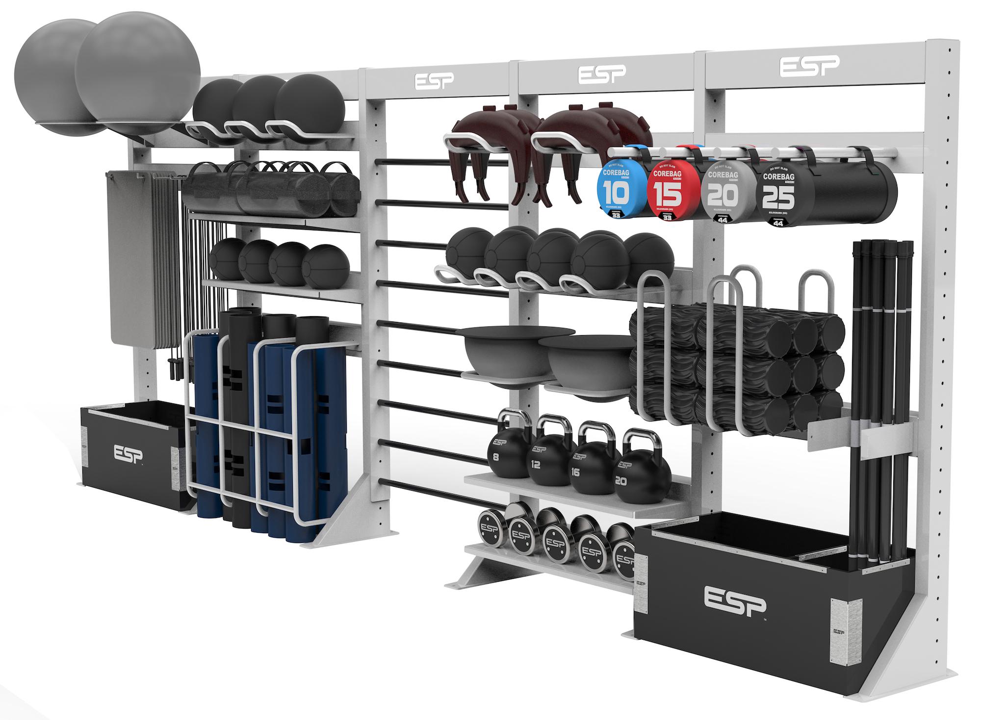 Weight storage esp fitness